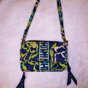 Vera Bradley Katalina Blues mini crossbody
